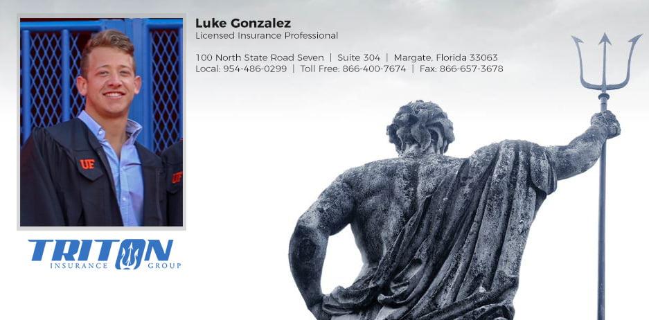 Luke Gonzalez Newest Triton Agent
